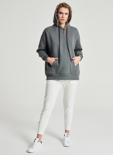 Pi π Basic Oversize Sweatshirt Antrasit